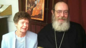 Fr. Philaret with his Mother